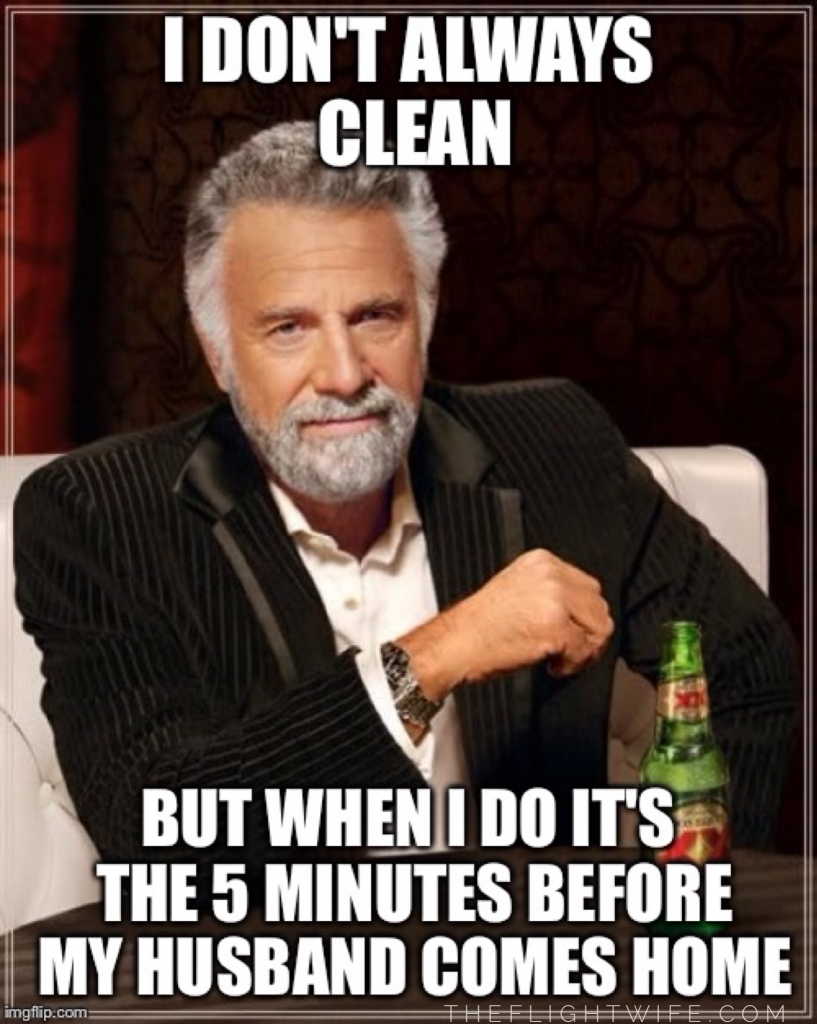 don't always clean