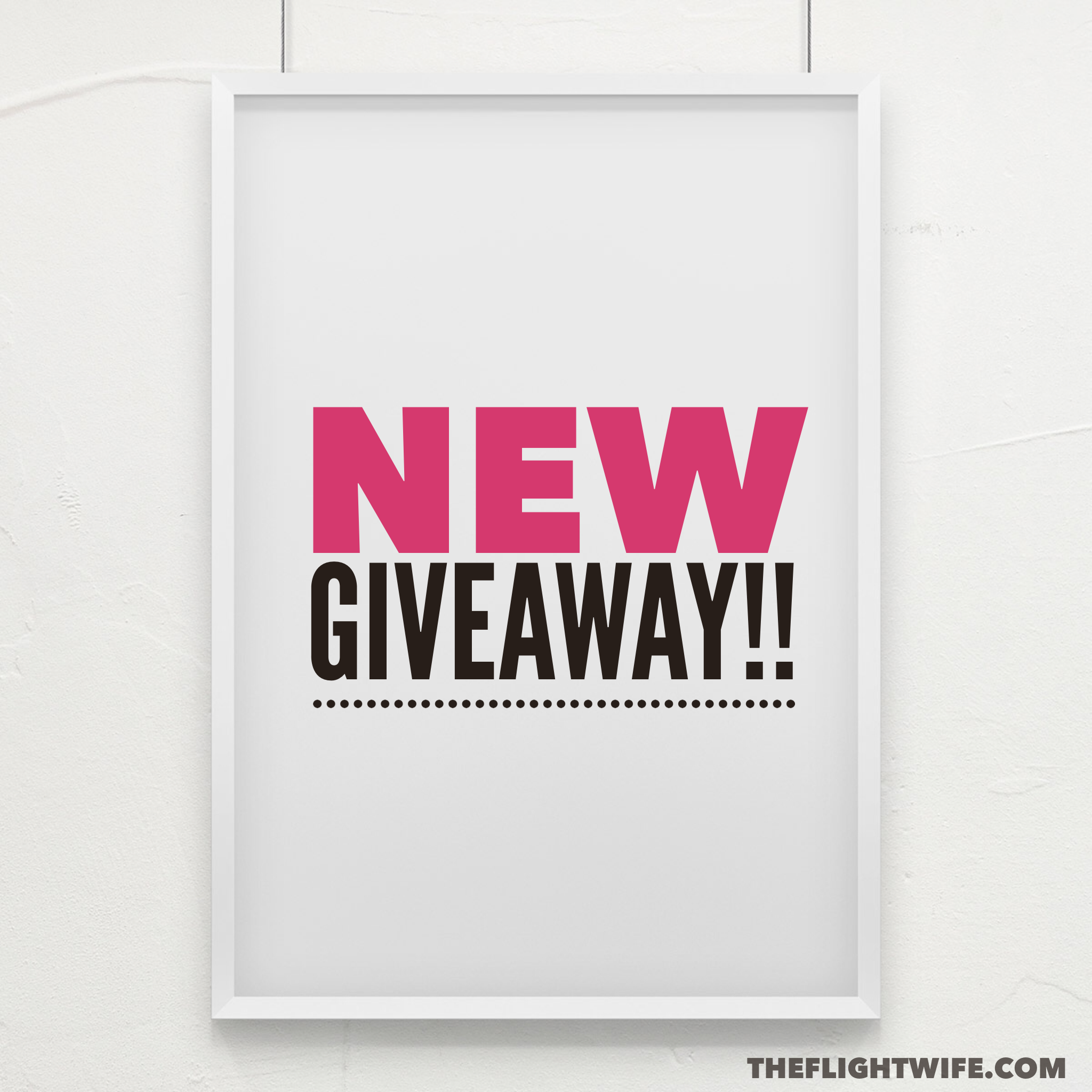 New giveaway enter to win a jetsetter tee from a pilot 39 s for New home giveaway