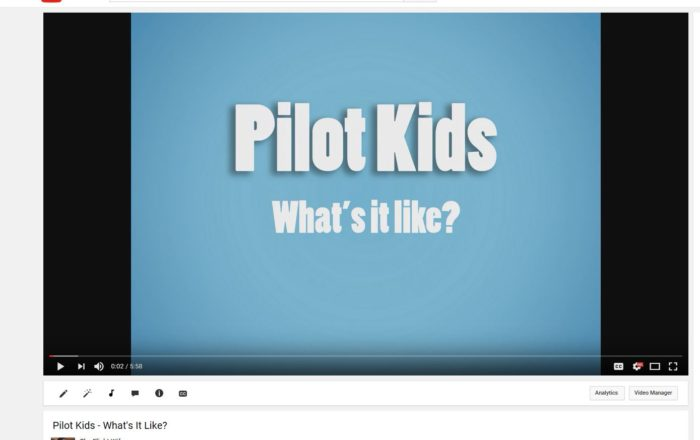Pilot Kid Interviews – What's It Like?