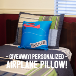 Aviation Gift Spotlight: Personalized Airplane Pillow!